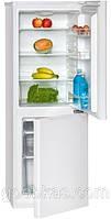 Двухкамерный холодильник с морозильником Bomann KG 319 белый Германия