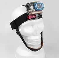 Крепление на голову Head Strap Mount с креплением на подбородок  для камер GoPro