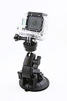 Крепление присоска с шаровой головкой для камер GoPro