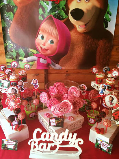 "Кенди бар (Candy bar) ""Маша и Медведь"""