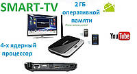 Приставка Smart TV Android TV BOX CS918 2GB ОЗУ Смарт ТВ 16гб