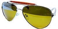Очки солнцезащитные akwa avatar polaroid с желтыми стеклами