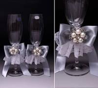 Свадебные бокалы Королевские, фото 1