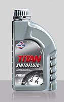 Трансмиссионное масло FUCHS TITAN SINTOFLUID 75W-80 1L для МКПП и мостов синтетическое