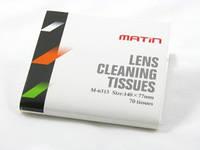 Тканевые салфетки для чистки оптики MATIN PRO