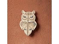 Деревянные часы Сова
