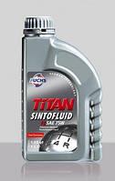 Трансмиссионное масло FUCHS TITAN SINTOFLUID FE 75W 1L для МКПП и мостов синтетическое для VOLKSWAGEN