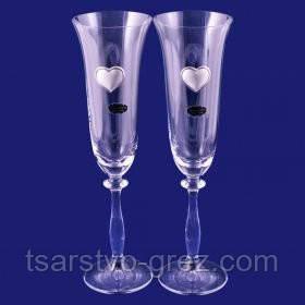 Свадебные бокалы Suggest