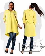 Блуза-туника женская в расцветках