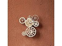 Деревянные часы Шестеренки