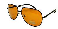 Очки солнцезащитные akwa avatar polaroid с оранжевыми стеклами