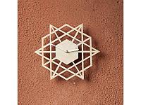 Деревянные часы Лазер