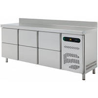 Стол холодильный с выдвижными шкафчиками ASBER ETP-6-250-08