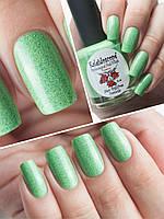 """Лак для ногтей El Corazon """"Грезы о весне"""" №07 — Травка зеленеет, солнышко блестит…"""