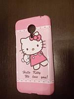 Чехол TPU для Meizu MX5 Pro Hello Kitty