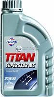 Трансмиссионное масло FUCHS TITAN SUPERGEAR 80W90 1L для МКПП и мостов минералка