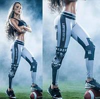 Лосины женские спортивные Американский футбол, фото 1