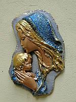 Матір Божа з Ісусиком (синя)