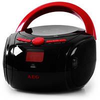 Магнитофон BOOMBOX AEG SR 4348 BT Bluetooth CD/MP3/USB  Германия Оригинал