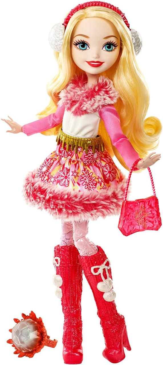 Кукла Эвер Афтер Хай Эппл Вайт серия эпическая зима Ever After High Epic Winter Apple White