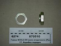 Гайка М39х2-6Н вала вторичного (СТМ S.I.L.A., Н.Челны), 870510