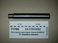 Ось блока шестерен (пр-во КАМАЗ), 14.1701092