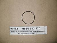 Кольцо уплотнительное 67х3мм цилиндра делителя (ZF), 634313320