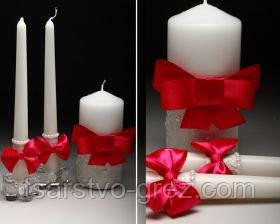 Свадебные свечи в ассортименте