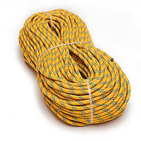 Статический шнур SINEW HARD 10мм (желтый)