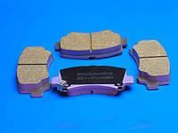 Колодки тормозные передние, bremsweg long life Chery Jaggi S21 (Чери Джаги), S21-3501080BL