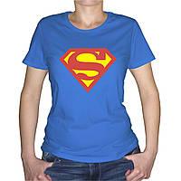 Женская футболка с эмблемой Superman