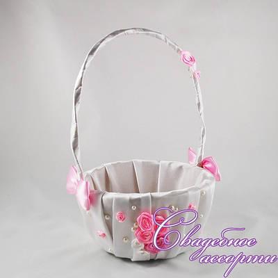 Корзинка для лепестков роз №7