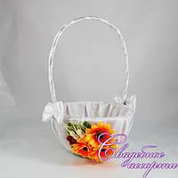 Свадебная корзинка в украинском стиле