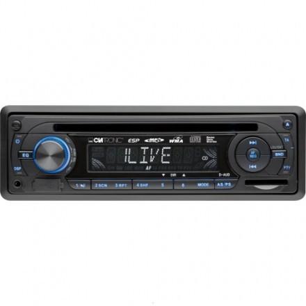 Автомагнитола Clatronic AR 815 4.0 MP3 CD FM Германия Топ продаж