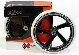 Пара колес с подшипниками для самокатов Explore, размер 200*35 мм