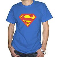 Мужская футболка с эмблемой Superman