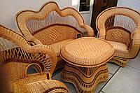 Плетеная мебель handmade для дачи и сада