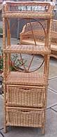 Плетеные этажерки и полки, фото 1