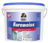 Акриловые краски белого цвета Dufa Euroweiss, 10 л