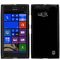 Чехол силиконовый Baseus для Nokia Lumia 730 DS черный