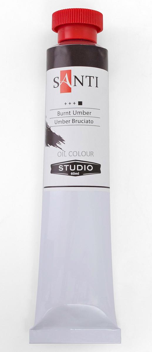 Краска масляная Santi Studio 60мл Умбра жженная №15