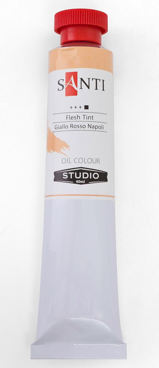 Краска масляная Santi Studio 60мл Неаполитанский желто-красный №29