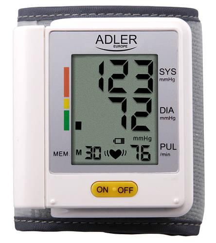 Наручный цифровой измеритель артериального давления Adler AD 8411