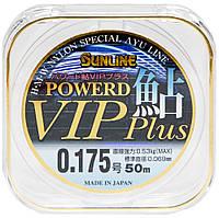 Леска Sunline Powerd Ayu Vip Plus 50м #0.175/0.069мм 0,53кг