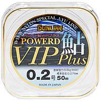 Леска Sunline Powerd Ayu Vip Plus 50м #0.2/0.074мм 0,6кг