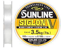 Леска Sunline Siglon V 100м #1.2/0.185мм 3,5кг
