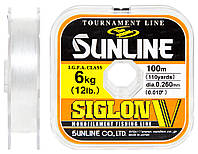 Леска Sunline Siglon V 100м #2.5/0.26мм 6кг