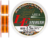 Леска Sunline Troutist Area LE Stealth 100m #0.5/0.117mm 1,25кг