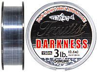 Леска Sunline Troutist Darkness HG 150м #0.6/0.128мм