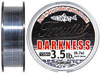 Леска Sunline Troutist Darkness HG 150м #0.7/0.138мм